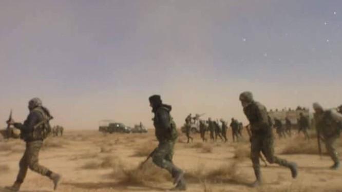 Lực lượng Lá chắn Qalamoun tấn công trên chiến trường địa phương chống IS