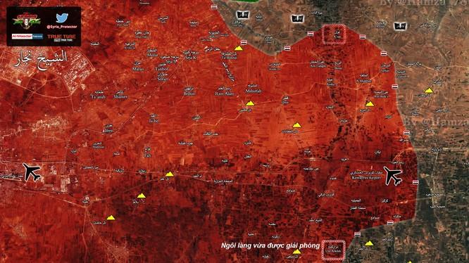 Ngồi làng quân đội Syria giải phóng phía đông Aleppo