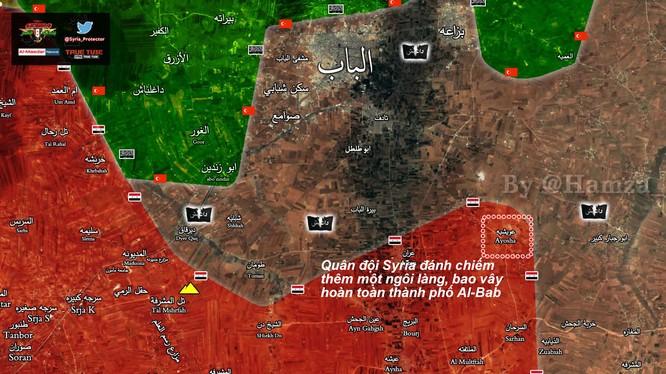 Ngôi làng Ayoshah, quân đội Syria giải phóng ngày 05.-2.2017