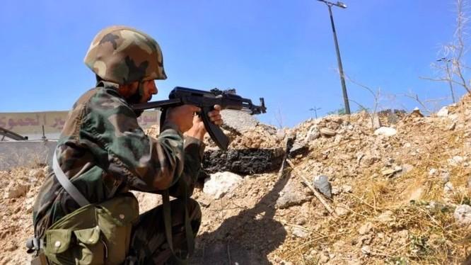 Binh sĩ quân đội Syria (ảnh minh họa)