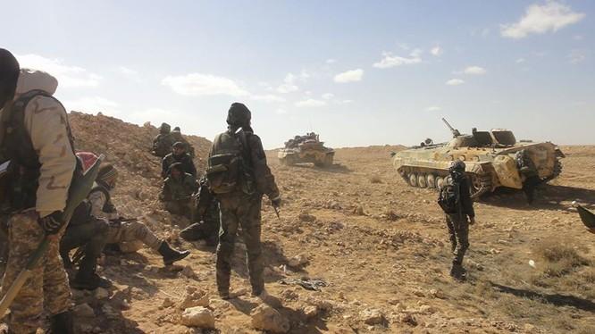 Lực lượng Lá chắn Qalamoun trên chiến trường ngoại ô Damascus