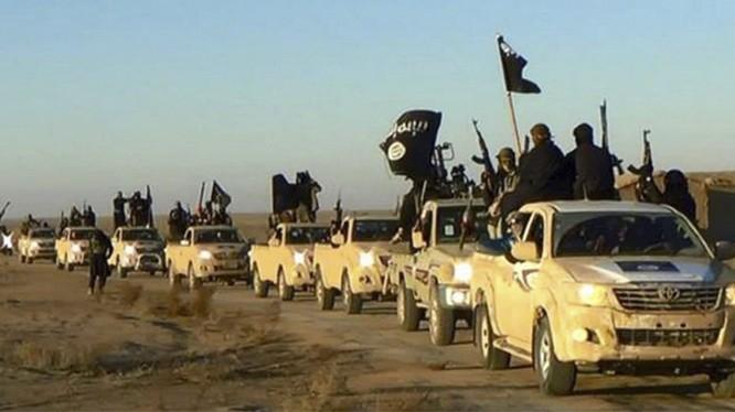 Đoàn xe quân sự của IS (ảnh minh họa)