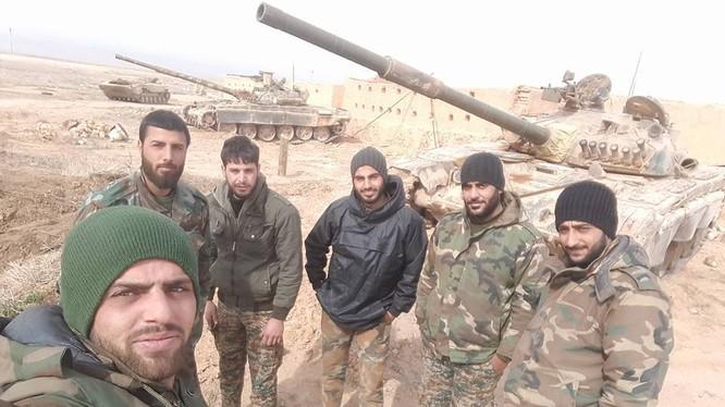 Binh sĩ lực lượng Vệ binh Cộng hòa khu vực Khanaser, Aleppo