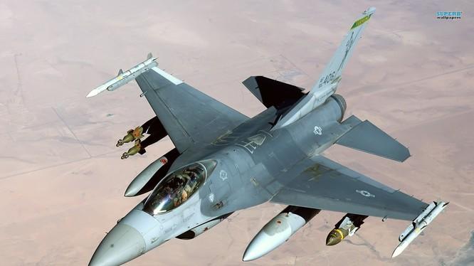 Máy bay tiêm kích đa nhiệm F-16 Fighting Falcon Mỹ