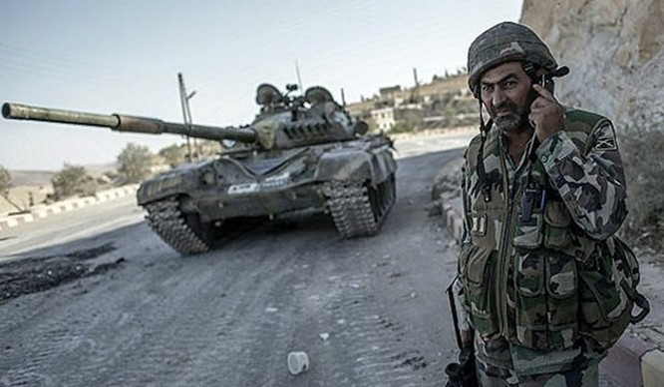 Quân đội Syria trên đường tấn công về hướng thành phố Al-Bab