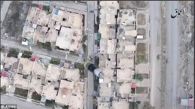 IS sử dụng drone ném bom vào quân đội Iraq