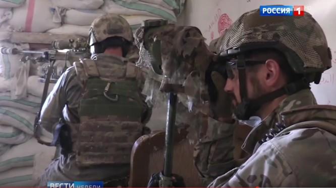 Một nhóm đặc nhiệm Nga hoạt động ở Syria