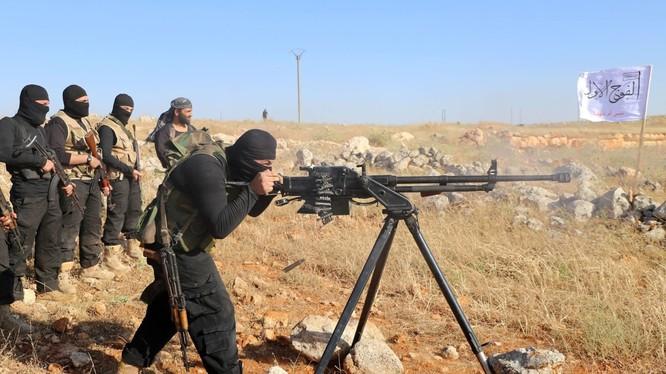 Nhóm chiến binh khủng bố Al-Qaeda ở tỉnh Daraa