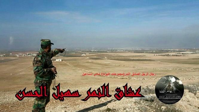 Thiếu tướng Suheil al-Hassan, tư lệnh trưởng sư đoàn Tiger trên chiến trường Aleppo