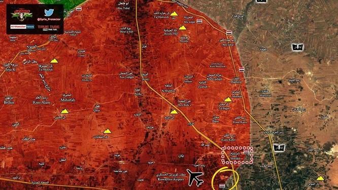 Lực lượng Tiger đánh chiếm ngọn đồi chiến lược Hmaimiyah từ IS