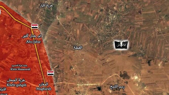 Quân đội Syria tấn công giải phóng làng Rasm Al-Hermel phía đông thành phố Aleppo