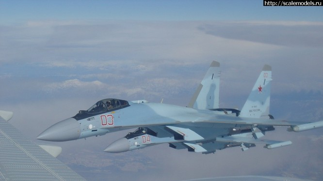 Ngày 31.01.2016, Nga triển khai 4 chiếc máy bay Su-35S tham gia chiến đấu trên chiến trường Syria