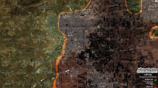 Chiến trường Al-Bab tính đến ngày 17.02.2017