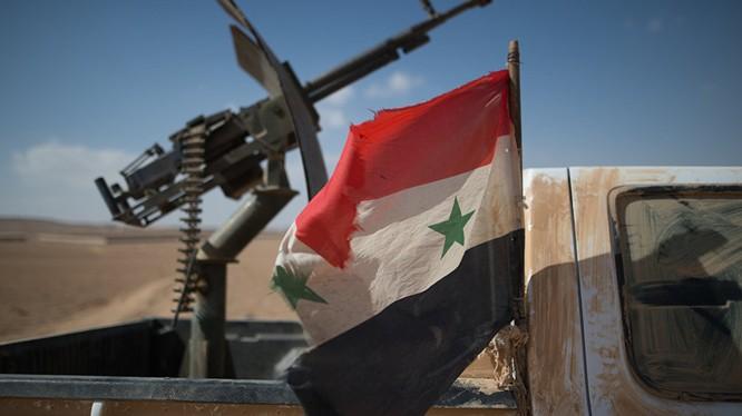 Trạm kiểm soát cơ động của quân đội Syria