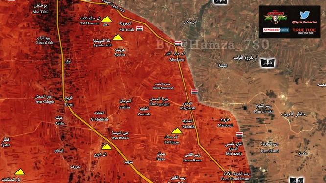 Lực lượng tinh nhuệ Tiger đang trên hướng tấn công về phía thị trấn Deir Hafer