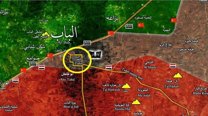 Thị trấn Tadef hoàn toàn được giải phóng
