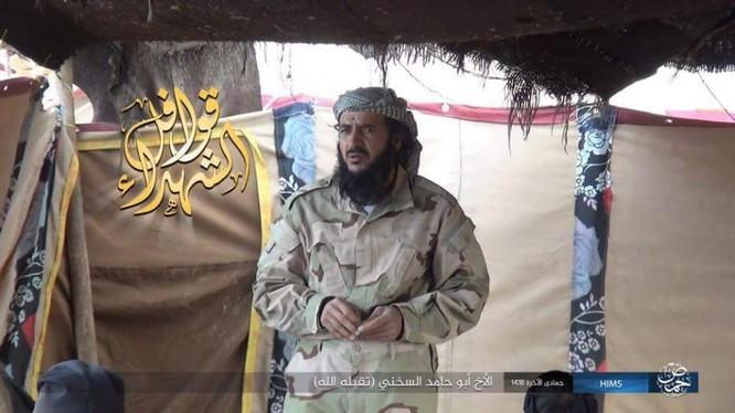 Thủ lĩnh IS, kẻ phá hủy thành phố cổ Palmyra đã bị tiêu diệt