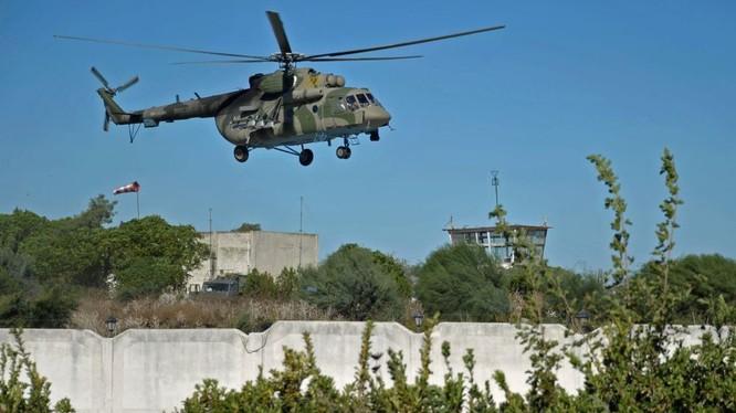 Trực thăng Nga phục vụ trên chiến trường Syria