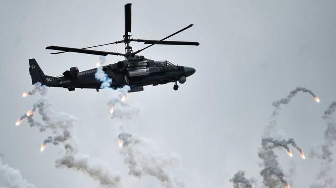 Trực thăng Ka-52 trên chiến trường Syria