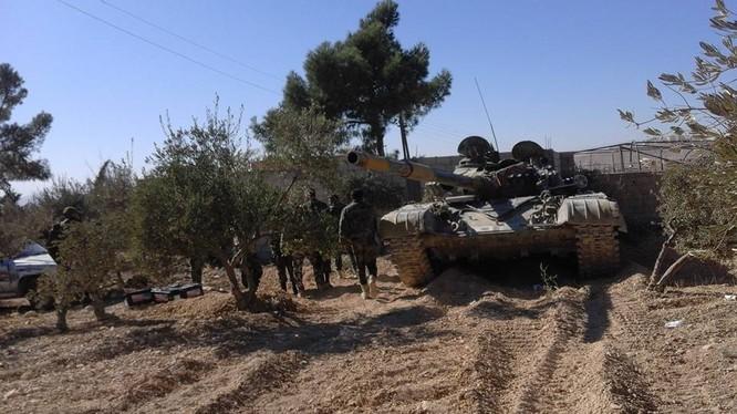 Quân đội Syria tiến công trên vùng nông thôn Damascus