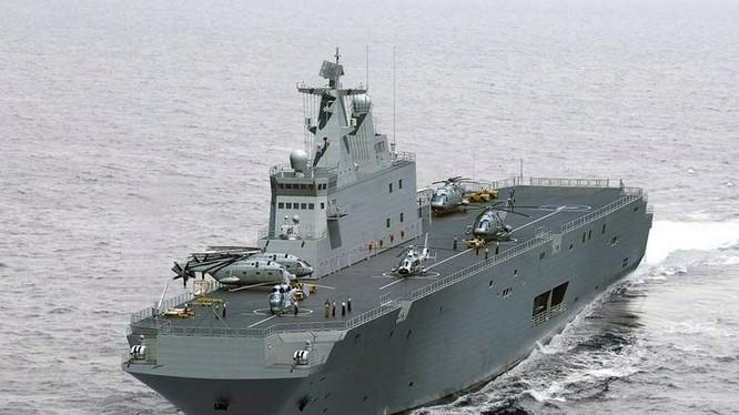 Tàu đổ bộ trực thăng Trung Quốc