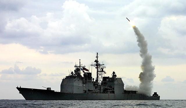 Mỹ tấn công tên lửa hành trình Syria