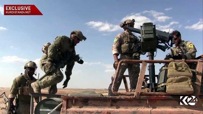 Đặc nhiệm Mỹ và Lực lượng Dân chủ Syria trên chiến trường tỉnh Raqqa