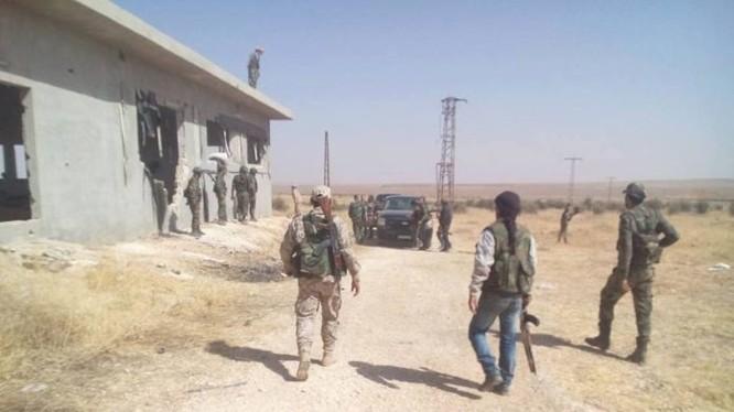 Binh sĩ quân đội Syria, lực lượng Tiger ở miền bắc Hama