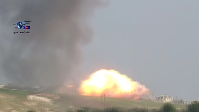 Không quân Nga không kích ác liệt phiến quân ở Hama