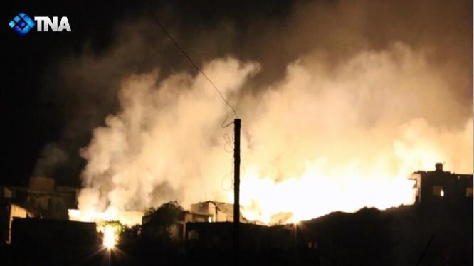 Không quân Nga không kích ác liệt phiến quân trong tỉnh Idlib