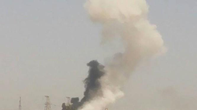 Không quân Nga không kích ở Hama