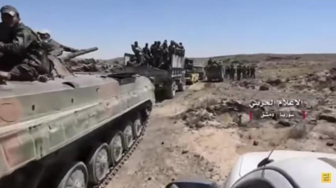 Quân đội Syria tấn công trên vùng ngoại ô Damascus