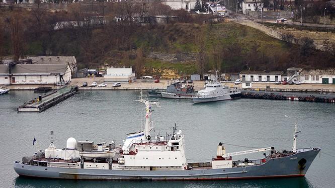 Tàu trinh sát điện tử hạng nhẹ Liman thuộc hạm đội Biển Đen