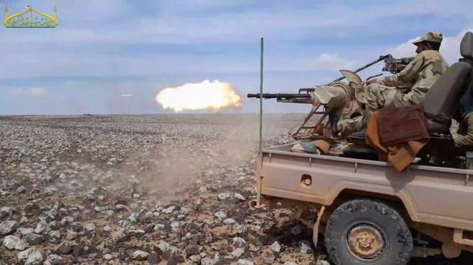 Nhóm Osoud Al-Sharqiya tấn công quân đội Syria