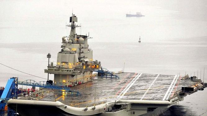Tàu sân bay Trung Quốc, nguyên mẫu tàu Liêu Ninh