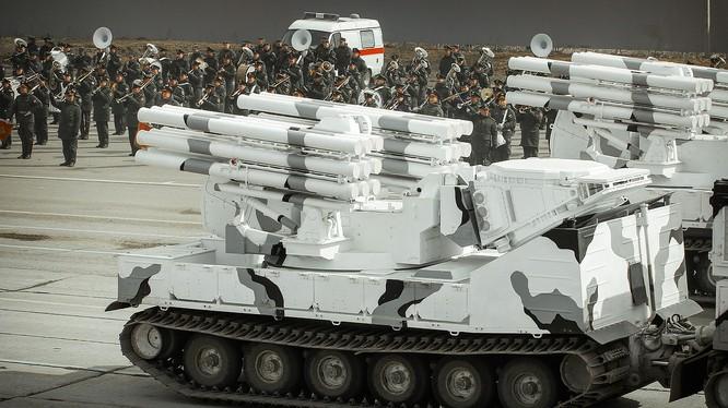 Tổ hợp pháo - tên lửa phòng không Pantsir - SA Bắc Cực