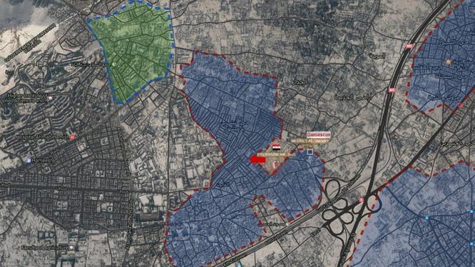 Khu vực chiến trường Al-Qaboun, Damascus