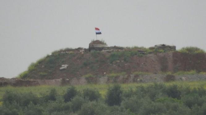 Trạm kiểm soát của quân đội Syria trên biên giới với Thổ Nhĩ Kỳ