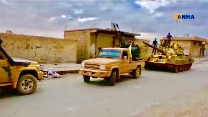 Lực lượng Dân chủ Syria SDF tấn công giải phóng Tabqa