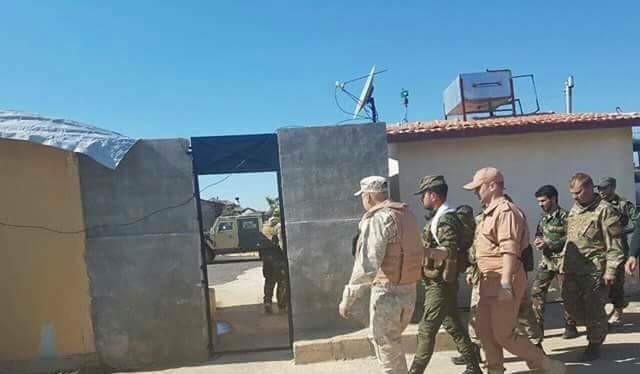 Tướng Suheil Hassan cùng các cố vấn Nga, có thể ở Aleppo, chuẩn bị cho cuộc tấn công về Deir Ezzor