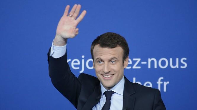 Ứng cử viên tổng thống tiềm năng Pháp Emmanuel Macron
