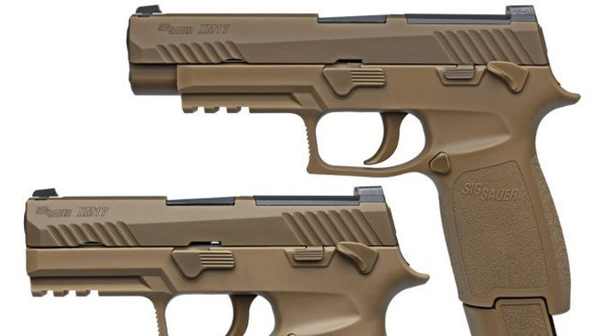 Súng ngắn M17 – phiên bản nâng cấp của SIG Sauer P320