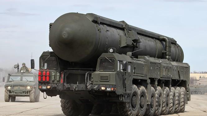 """Tên lửa đạn đạo chiến lược liên lục địa RS-24 """"Yars"""""""