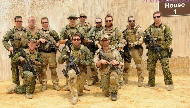 Nhóm đặc nhiệm Canada, tham chiến bí mật ở Donbass, Ukraine