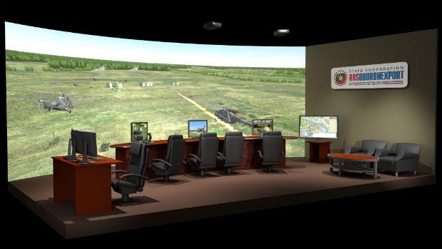 """Hệ thống hệ thống mô phỏng chiến trường không gian ảo """"Combat"""" đến cấp lữ đoàn dành cho xuất khẩu"""