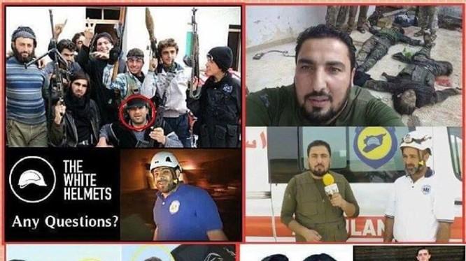 """""""Mũ bảo hiểm trắng"""" lực lượng bí mật chống phá chính quyền Syria"""