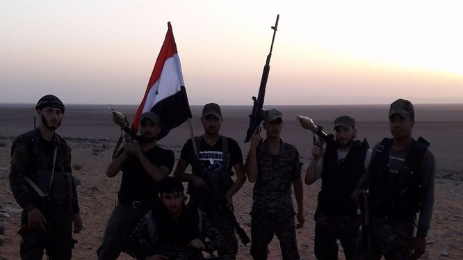 Lực lượng quân tình nguyện người Iraq ở Syria