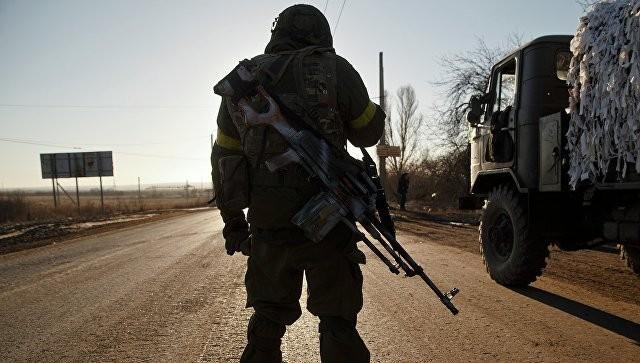 Binh sĩ thuộc lực lượng dân quân Lugansk, Donbass