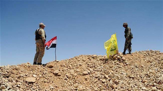 Quân đội Syria và lực lượng đồng minh Hezbollad trên chiến trường phía đông Damascus