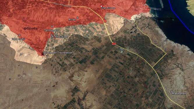 Bản đồ chiến trường Aleppo tính đến ngày 20.05.2017
